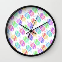 Ice Cream Melt Wall Clock