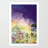 LaLaLand Art Print