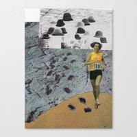 Particle Canvas Print