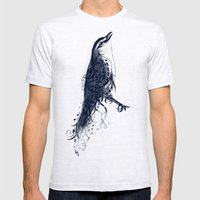 The Songbird Mens Fitted Tee Ash Grey SMALL
