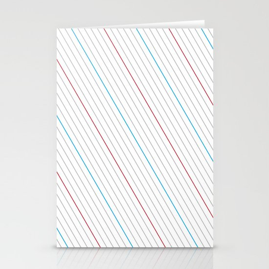 Simple Lines Stationery Card