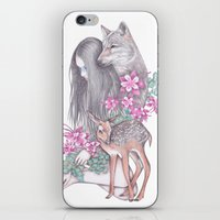Forest Wanderer iPhone & iPod Skin