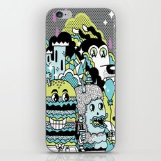 Magic Friends iPhone & iPod Skin
