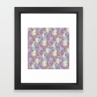 Cameo & Trailing Hair //… Framed Art Print