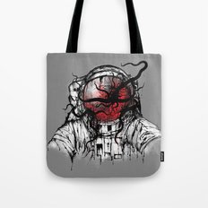 Space Parasitism Tote Bag