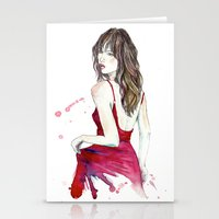 Don't Look Now Stationery Cards