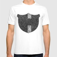 Texture N0. Mens Fitted Tee White SMALL