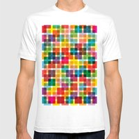 Skware Mens Fitted Tee White SMALL