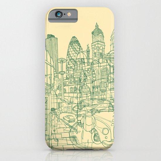 London! Cream iPhone & iPod Case