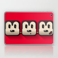faces of mickey mouse Laptop & iPad Skin
