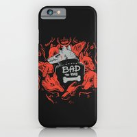 iPhone & iPod Case featuring Bad To The Bone by Polite Yet Peculiar