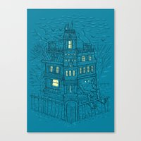 Is It Halloween Yet? Canvas Print