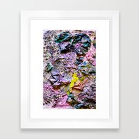 Yellowing Framed Art Print