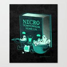 Necronomnomnomicon Canvas Print