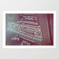 '69 GTO Art Print