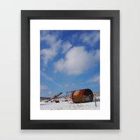 January air Framed Art Print