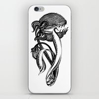 Carnivorous plant iPhone & iPod Skin