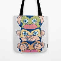 Hear No Evil, Speak No E… Tote Bag