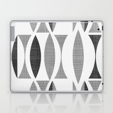 Seventies Black and White Laptop & iPad Skin