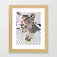Sweetly Lavender Framed Art Print
