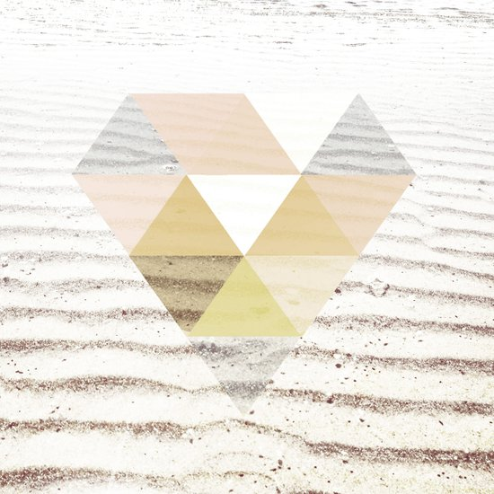 Beach Diamond Art Print