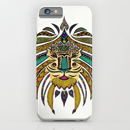 Emperor Tribal Lion iPhone & iPod Case