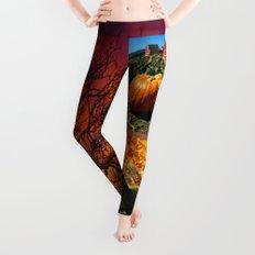 Autumn Collage  Leggings