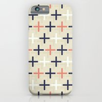 iPhone & iPod Case featuring Midcentury Pattern 04 by BLKSPC