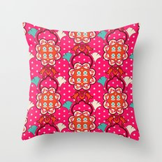 Jucy blossom Throw Pillow