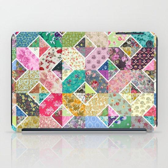 Betty's Diamond Quilt iPad Case