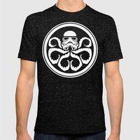 Hydra Trooper Mens Fitted Tee Tri-Black SMALL