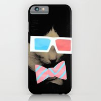 iPhone & iPod Case featuring Hip Cat by Victoria Dawn Burgamy