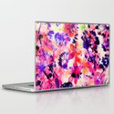 flowers and dandelions Laptop & iPad Skin