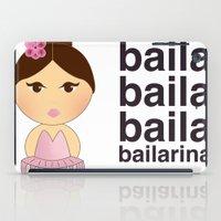 Baila bailarina iPad Case