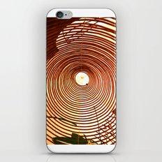 Incense Rings iPhone & iPod Skin