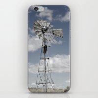 VINTAGE WINDMILL iPhone & iPod Skin