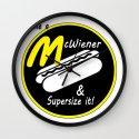 McWiener...Supersized Wall Clock