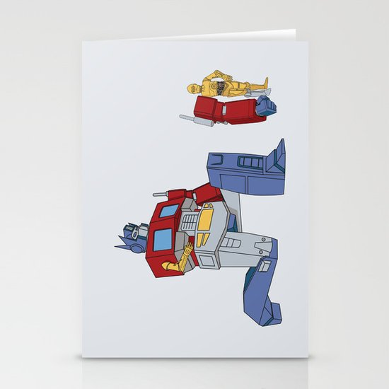 Not the Parts they were looking for... Stationery Card