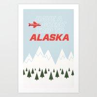 Alaska Trip Art Print