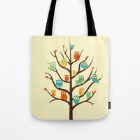 Owl Are Welcome Tote Bag