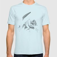 Endogfx Top Mens Fitted Tee Light Blue SMALL