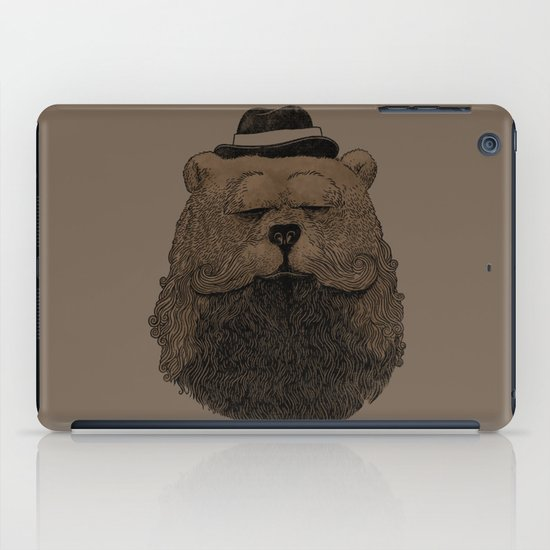 Grizzly Beard iPad Case