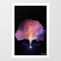 Tree Of Light Art Print