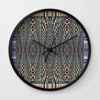 Garden Of Illusion Wall Clock