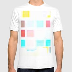 Wash Mens Fitted Tee SMALL White