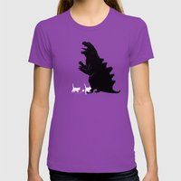 That Hurts Womens Fitted Tee Ultraviolet SMALL