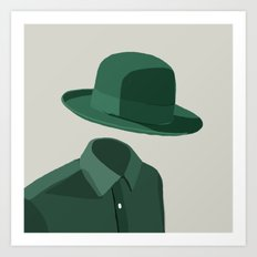 Invisible Man Art Print