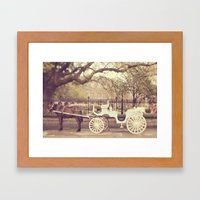 New Orleans Carriage Rid… Framed Art Print