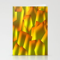Green Design Stationery Cards