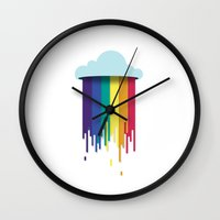 What Clouds Are Made Of Wall Clock